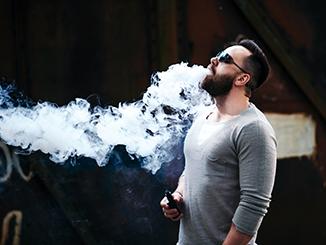 Nikotinsuchtig durch zigarre