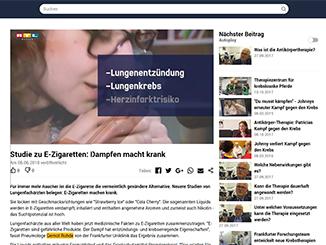 Screenshot RTL Hessen