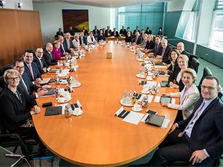 Das Bundeskabinett 2018