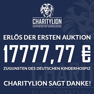 Charitylion Erlös